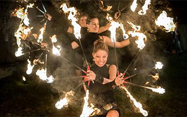 Modern Fire Show